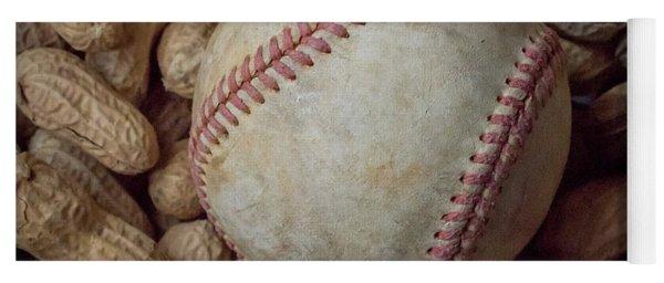 Vintage Baseball And Peanuts Square Yoga Mat