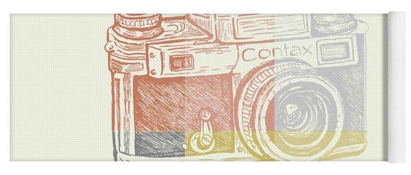 Vintage Camera 2 Yoga Mat