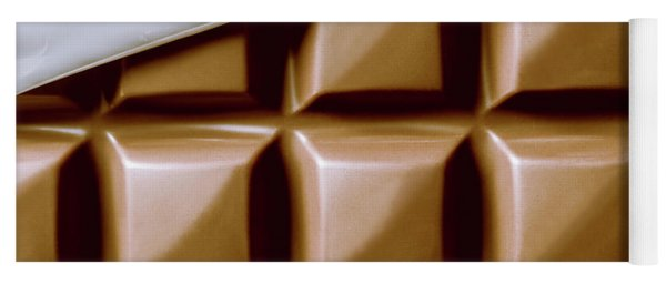 Vintage Chocolate Block Macro Yoga Mat