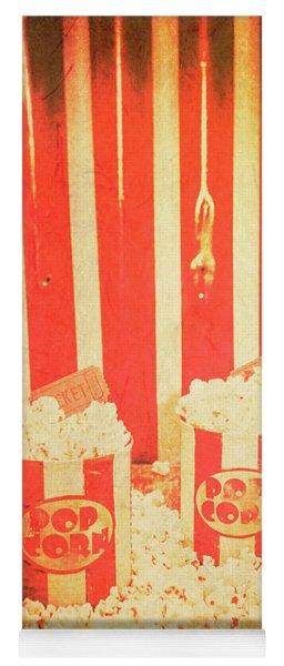 Vintage Classical Cinema Interval Concept Yoga Mat