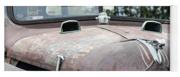 Vintage Dodge Truck Yoga Mat