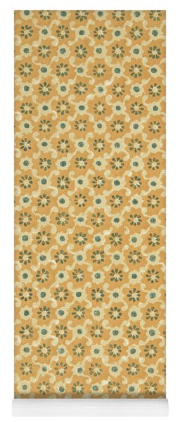 Vintage End Paper Pattern From Queen Of Spades By Alexandr Sergeevich Pushkin Yoga Mat