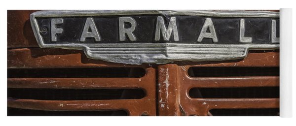 Vintage Farmall Tractor Yoga Mat