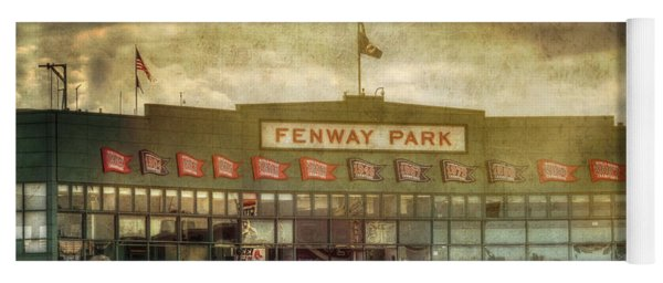 Vintage Fenway Park - Boston Yoga Mat