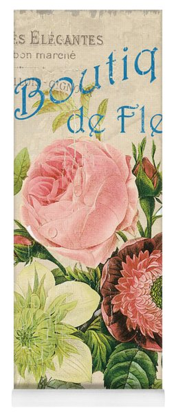 Vintage French Flower Shop 2 Yoga Mat