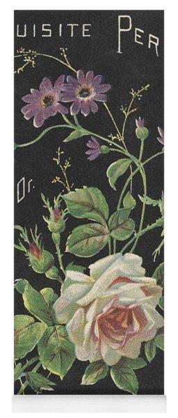 Vintage French Perfume  Yoga Mat