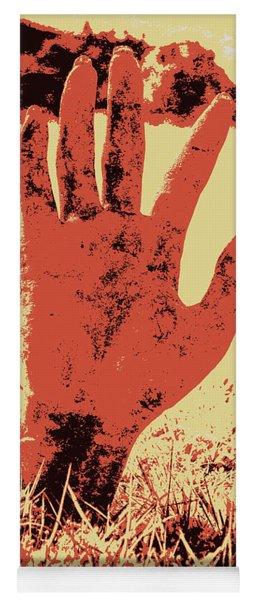 Vintage Horror Poster Art  Yoga Mat
