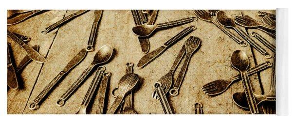 Cutlery Yoga Mats | Fine Art America