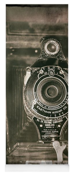 Vintage Kodak Camera Yoga Mat