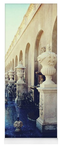 Vintage Longwood Gardens Fountains Yoga Mat
