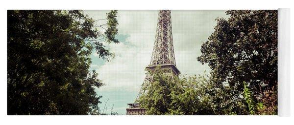Vintage Paris Landscape Yoga Mat