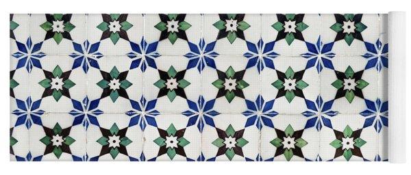 Vintage Portuguese Tiles Yoga Mat