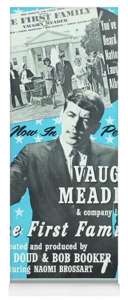 Vintage Poster For Vaughn Meader In The First Family Yoga Mat