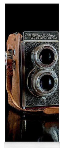 Vintage Ricohflex Camera Yoga Mat