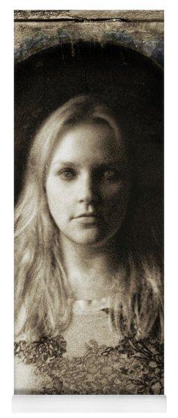 Vintage Tintype Ir Self-portrait Yoga Mat