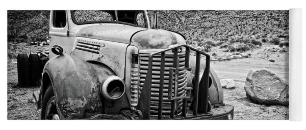 Vintage Truck Yoga Mat