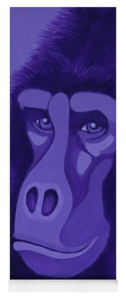 Violet Gorilla Yoga Mat