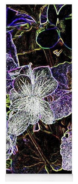 Violets A Yoga Mat