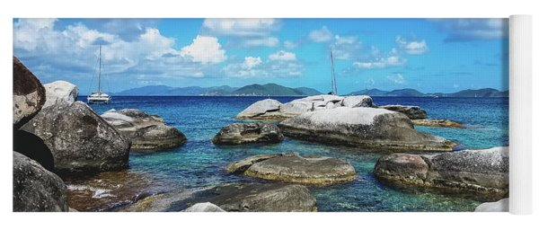 Virgin Gorda Catamarans Yoga Mat