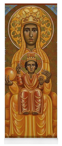 Virgin Of Montserrat - Black Madonna - Jcvom Yoga Mat