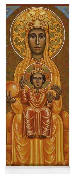 Virgin Of Montserrat - Black Madonna - Jcvom Yoga Mat