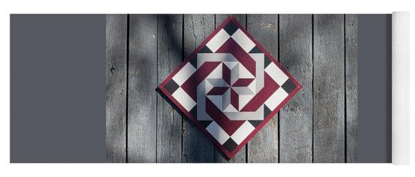 Virginia Barn Quilt Series II Yoga Mat