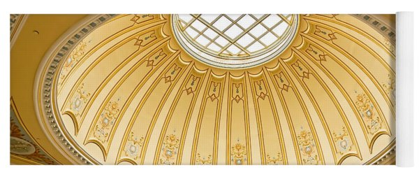 Virginia Capitol - Dome Profile Yoga Mat