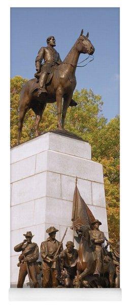Virginia State Monument Yoga Mat