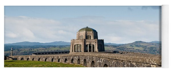 Vista House At Crown Point Yoga Mat