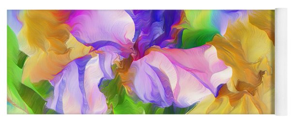 Voices Of Spring Yoga Mat