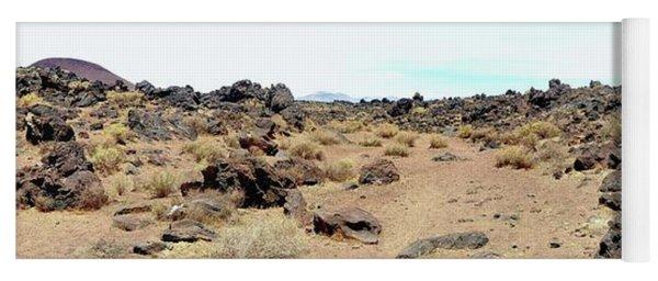 Volcanic Field Panorama Yoga Mat