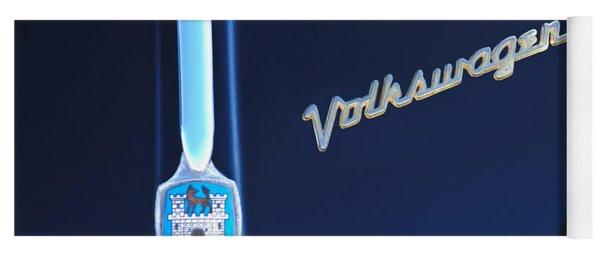 Volkswagen Vw Bug Hood Emblem Yoga Mat