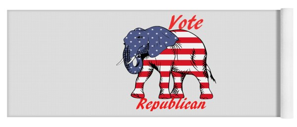 Vote Republican Yoga Mat