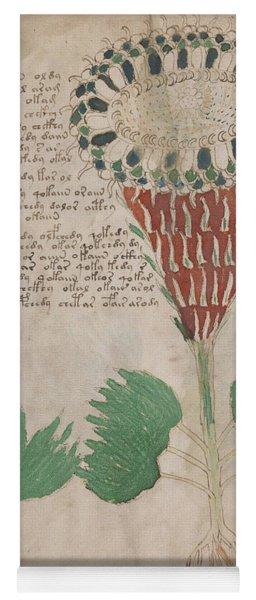 Voynich Flora 15 Yoga Mat