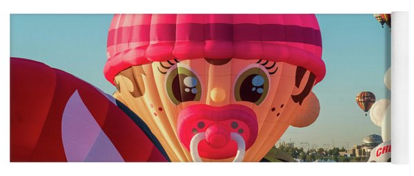 Wacky Binky Balloon Yoga Mat