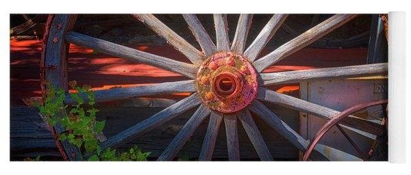 Wagon Wheel Yoga Mat