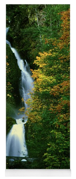 Wahkeena Falls Waterfall Yoga Mat