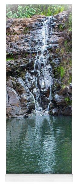 Waimea Waterfall Vignette Yoga Mat