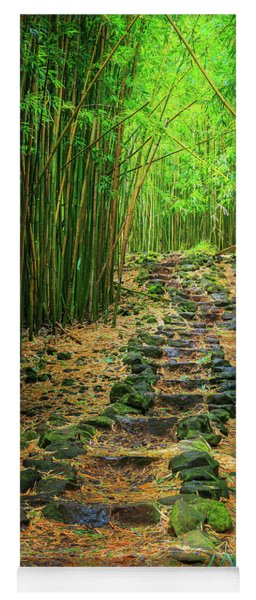 Waimoku Bamboo Forest #2 Yoga Mat