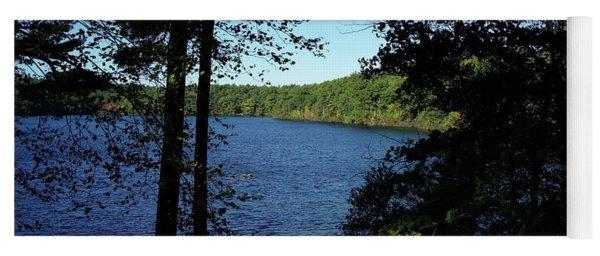 Walden Pond End Of Summer Yoga Mat