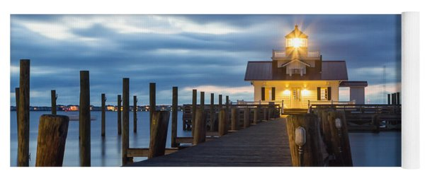 Walk To Roanoke Marshes Lighthouse Yoga Mat