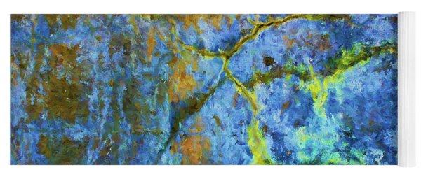 Wall Abstraction I Yoga Mat