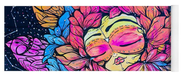 Wall Flowers Yoga Mat