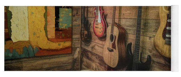Wall Of Art And Sound Yoga Mat