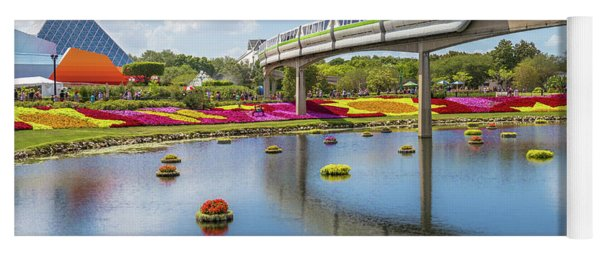 Walt Disney World Epcot Flower Festival Yoga Mat