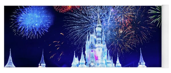 Walt Disney World Fireworks  Yoga Mat