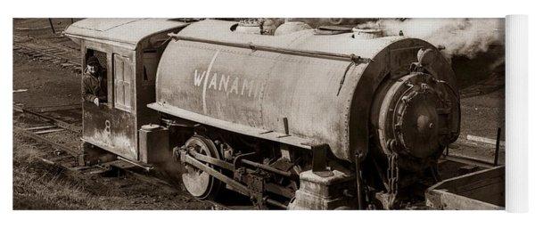Wanamie Pennsylvania Coal Mine Locomotive Lokey 1969... Yoga Mat