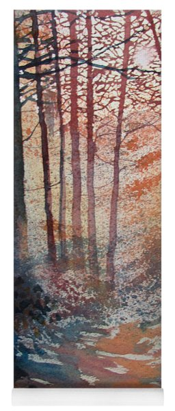 Wander In The Woods Yoga Mat