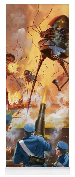 War Of The Worlds Yoga Mat
