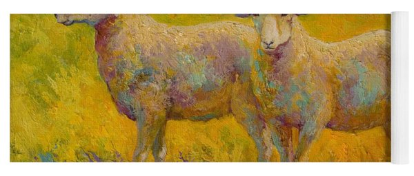 Warm Glow - Sheep Pair Yoga Mat